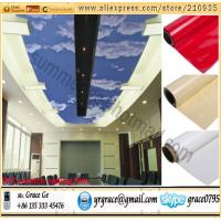China PVC ceiling film on sale