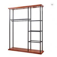 China Wall Mounted Clothing Rack For Retail Store on sale