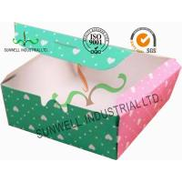 Cardboard Christmas Gift Packaging Boxes , Candy / Chocolate Packaging Boxes