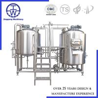 Turnkey Project Micro Beer Equipment Beer Fermentation Equipment For Brewery System Manufactures