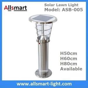 50cm/60cm/80cm Height Solar Lighting CE Stainless Steel Solar Yard Light Solar Led Yard Light Outdoor Yard Light Manufactures