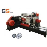 Buy cheap PVC LOSF Filler Masterbatch Plastic Extruder Machine Single with twin screw from wholesalers
