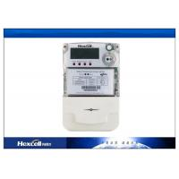 PC Material Single Phase Two Wire Static Energy Meter LCD transparent Manufactures