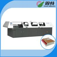 China Hot Melt Automatic Bookbinding Machine , Perfect Binder Bookbinding Machine on sale