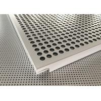 Architectural Extrusions Lay In Ceiling Tiles 595 X 595mm Pure White Coated Manufactures