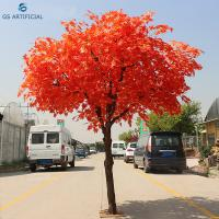 Eco - Friendly Japan Artificial Maple Tree For Garden / Home Decoration Manufactures