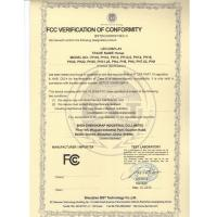 Shen Zhen Horap Industrial Co.,Limited Certifications