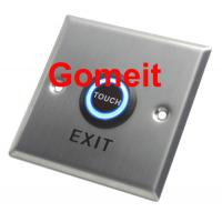 Customized Home / Hotel Automatic Door Exit Button NC / NO COM Output 86 X 86 X 25mm Manufactures