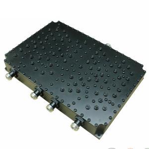 China 3G 4G LTE Passive RF Combiner , CDMA GSM DCS Power Splitter 4 Way Quadplexer on sale