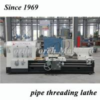 Pipe Threading Cnc Turning Lathe Machine Big Spindle Bore Diameter Manufactures