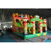 Buy cheap crazy penguins bouncy castle slide inflatable from wholesalers
