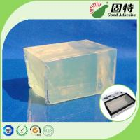 China Light Transparent Yellow and semi-transparent Strong Block Hot Melt Glue Adhesive Packaging For Gift Box Bonding on sale