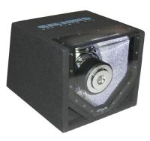 Black Car Speaker Boombox Single Bandpass System 31 x 29 x 38 Cm Manufactures