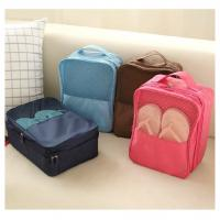 Daily  Cute Custom Shoe Bags Cube Tidy Clear Mesh Window Colorful Large Capacity Manufactures