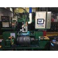 Gas Bottle Welding Cnc Spinning Lathe Machine For Natural Gas Pressure Vessel Making Manufactures