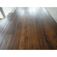 rustic Birch solid hardwood Flooring with handscraped and chatter mark finishing Manufactures