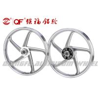 China Factory wholesale motorcycle parts aluminum alloy wheel rim silver black 17inch rims on sale