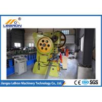 30KW Full Automatic Strut Channel Roll Forming Machine Equipped Automatic Puncher Manufactures