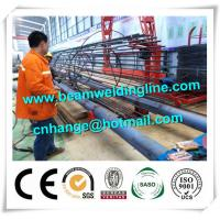 Tank Welding Tower Production Line , Rebar Cage Winding Machine Manufactures