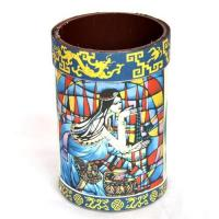 Hand painted pencil vase,pen holder,home decor,decorative accessories,handicrafts,folk crafts Manufactures