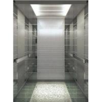 China High Speed Automatic Passenger Elevator , Hairline Stainless Steel Elevator on sale