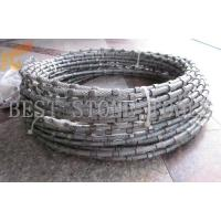 diamond wire saw for granite and marble profiling Manufactures