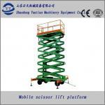 mobile hydraulic scissor lift platform for  line maintenance Manufactures