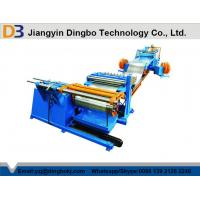 Quality Hydraulic Hot Roll Mild Steel Simple Coil Slitting Machine Speed 0-30M / Min High Precision for sale