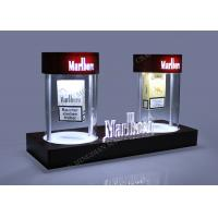 Acrylic LED Magnetic Floating Displays Tobacco Rotating Pop Display Manufactures
