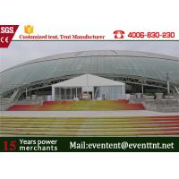 China 50 Meters width Custom Event Tents Color Option Aluminium Structure For Outdoor Sports on sale