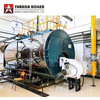Industrial Fire Tube 2 Ton Gas Fired Steam Boiler For Mushroom Sterilization Manufactures