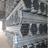 China Pre Galvanized Steel Pipe made in China marekt mill importer exporter on sale