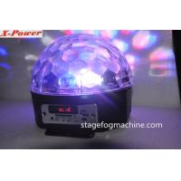 RGBW  LED Dream Ball Light  With Bluetoooth  Speaker Crystal Ball Light Remote  Digital Display   VS-26BT Manufactures