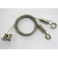Quality 0.05 ″Stainless Steel Light Fitting Suspension Kits With Cable Gripper Hook for sale
