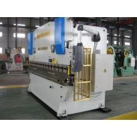 China Metal sheet bender nc Hydraulic power tools press brake machine with cnc back gauge on sale