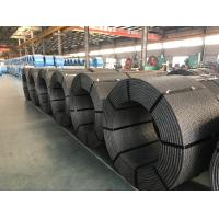 ASTM A416 Prestressed Steel Wire For Concrete , Galvanized 7 Wire Pc Strand Manufactures