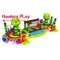 China Climbing Kindergarten Early Childhood Playground Equipment  With Ball Pool Colorful on sale