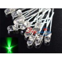 High Bright Output Green LED Diode , Infrared Light Emitting Diode For Outdoor Decoration Manufactures