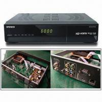 Digital Satellite Receiver with HDMI and Ethernet Ports