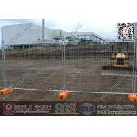 China New Zealand Hot-Dipped Galvanised Tempoary Fence Panels Sales (China Temp Fence Factory) on sale