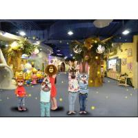 Buy cheap Multi Media Projection Family Amusement Center With Wonderland Theme from wholesalers