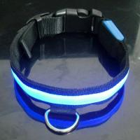 2012 Latest Custom Woven Twin LED Flashing Dog Harnesses Manufactures