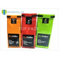 Block Bottom Easy Open Side Gusset Bags Tin Tie Foil Laminated Glossy Finished Manufactures