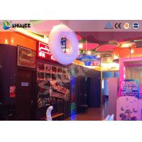 Popular 5D movie theater more special effects more excited , equipment 5D motion chair Manufactures
