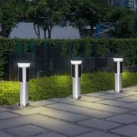 Decorative Solar Panel Street Lights 1 Metre 360 Degree Lighting High Efficiency Manufactures