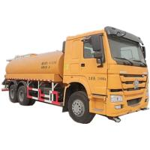 Euro 2 Standard 20000 Liters Fuel Liquid Tanker Truck / SINOTRUK HOWO 6X4 Oil Tank Truck Manufactures