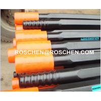 R38 T38 T45 T51 Standard Type rock drill rods , Tungsten Carbide steel drill pipe Manufactures