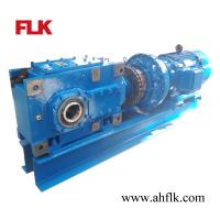 Right-angle gear reducer / for belt conveyors / multi-stage