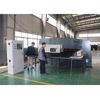 High Speed Cnc Turret Punching Machine , Steel Punch Press Costumizable Interface Manufactures