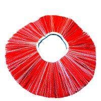 China Practical Garden Sweeping Brush Aluminum Base Material For Street Cleaning Snow on sale
